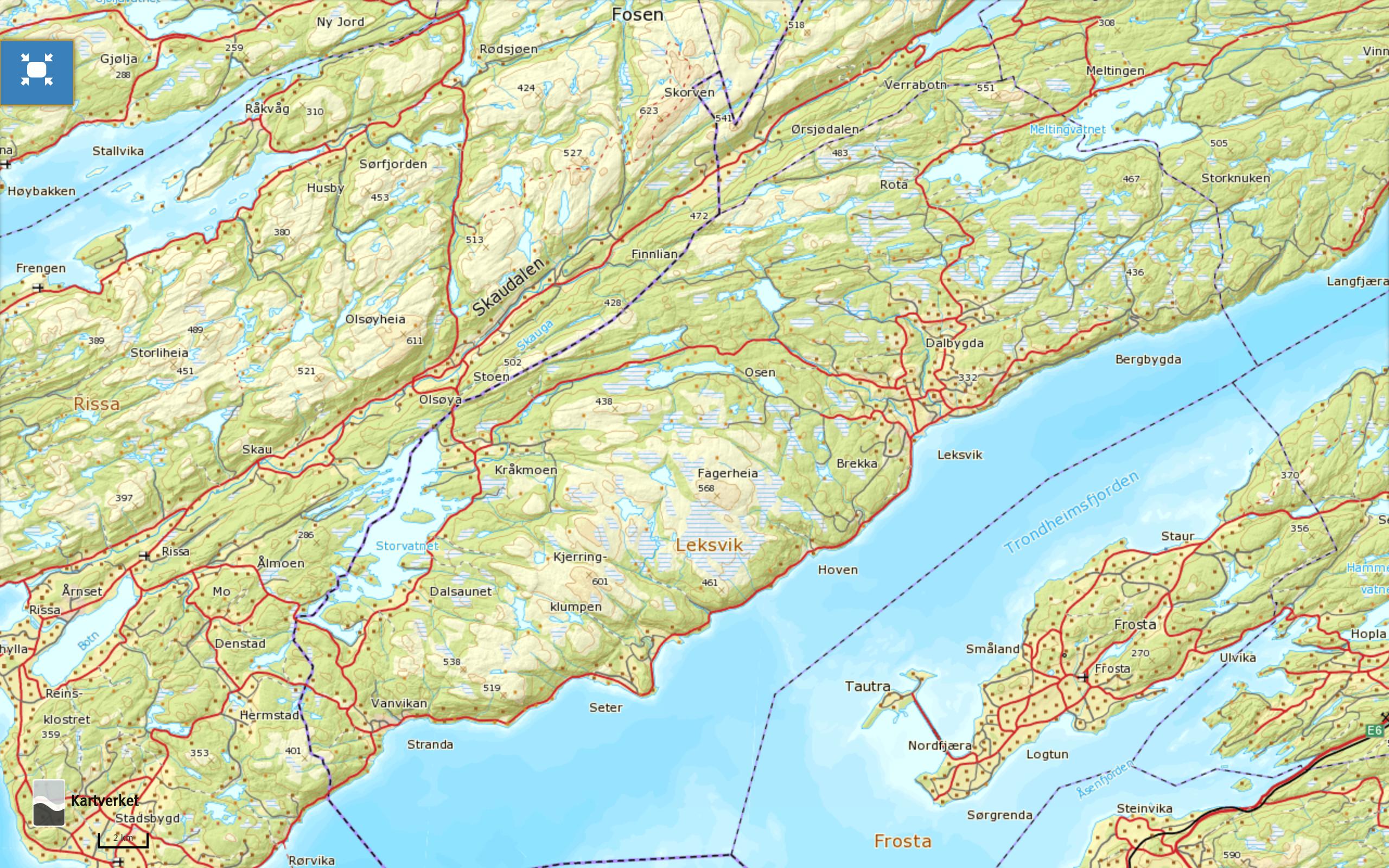norgeskart-leksvik