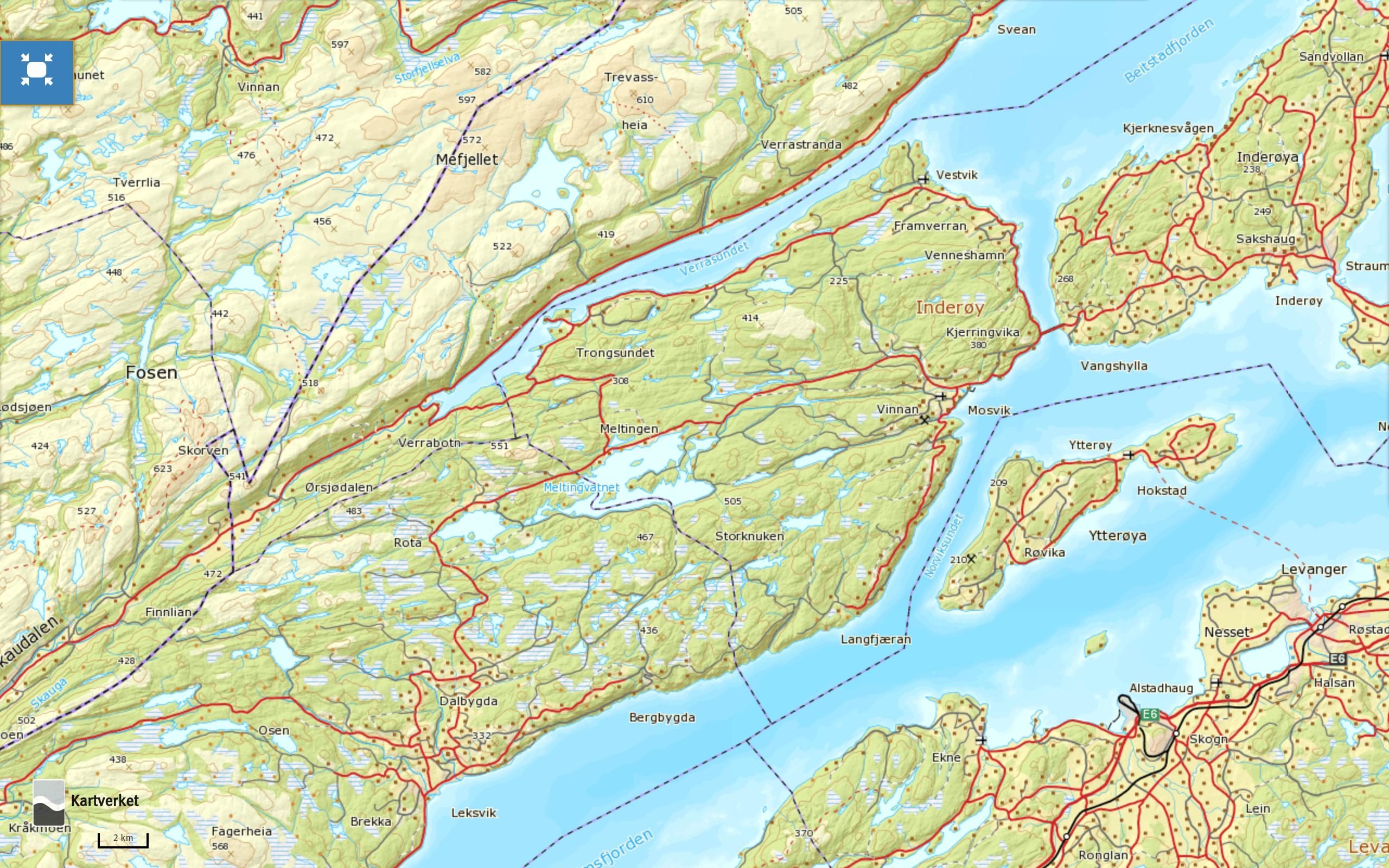 norgeskart-mosvik-inderoy
