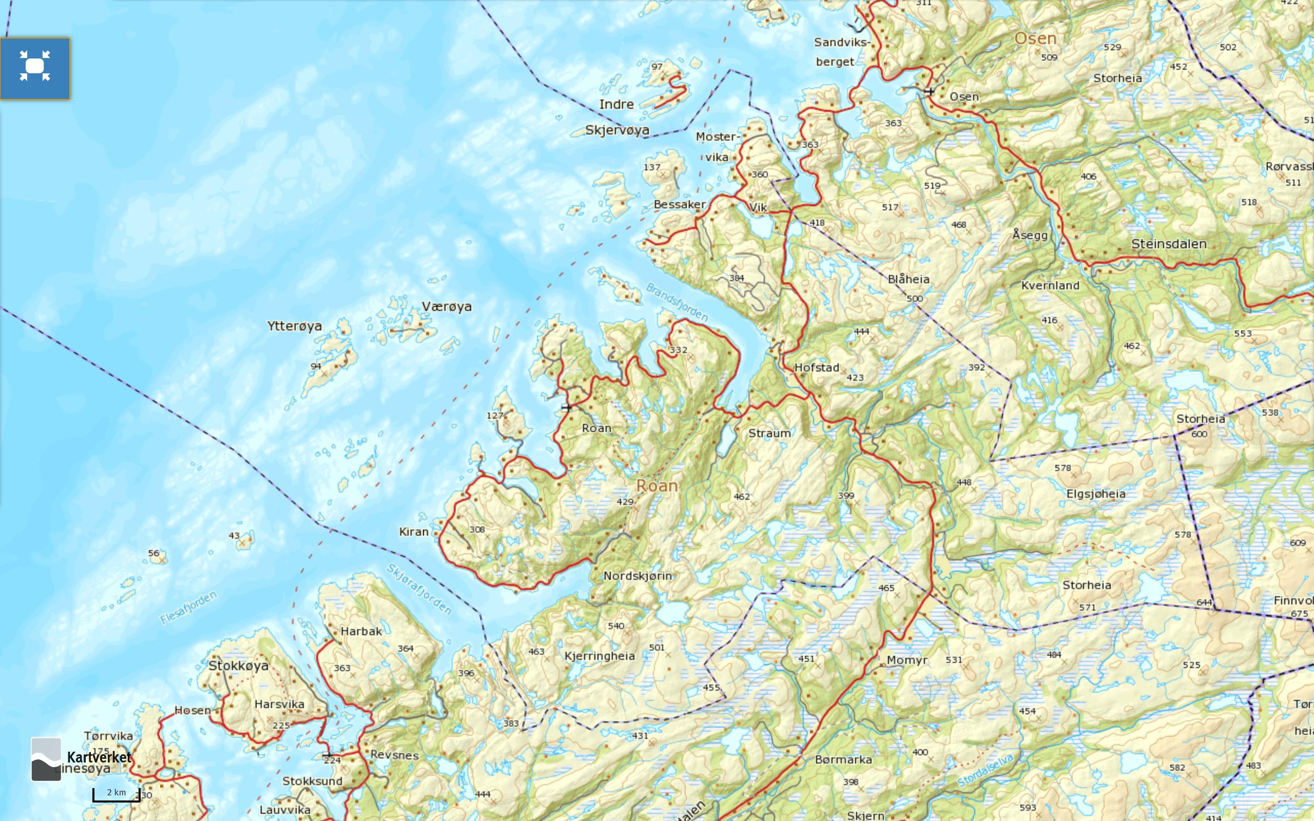 norgeskart-roan