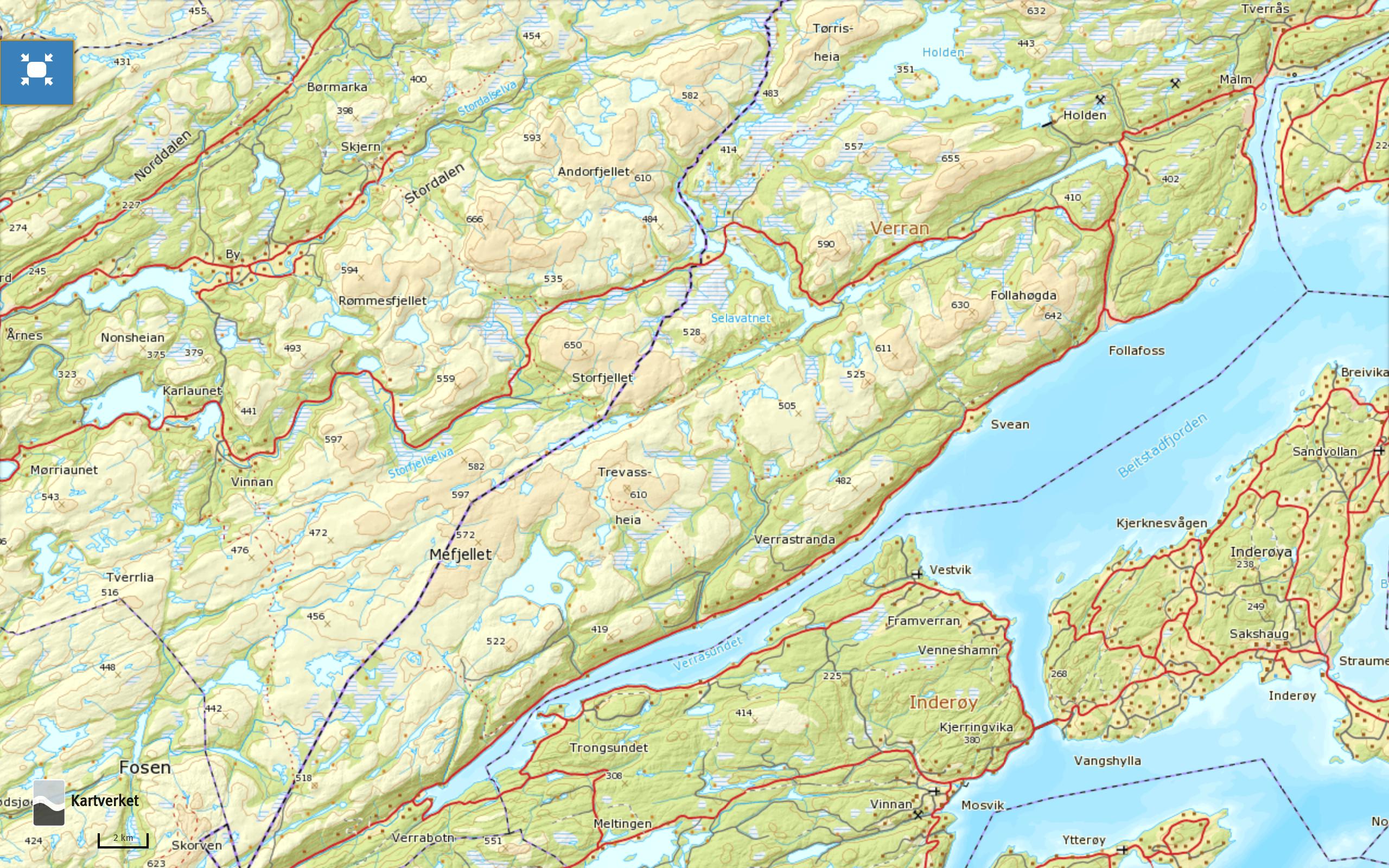 norgeskart-verran
